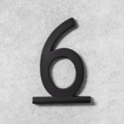 6 House Number Black - Hearth & Hand™ with Magnolia