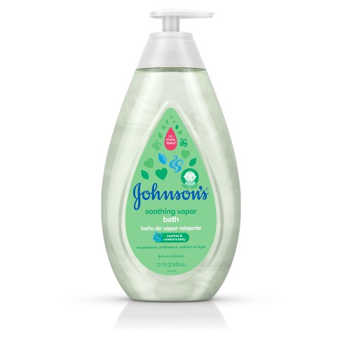 Johnson's Baby Soothing Vapor Bath Wash - 27.1oz - image 1 of 9