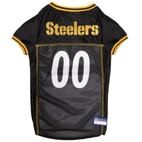 3f5f5c1b8dd NFL Pets First Mesh Pet Football Jersey - Pittsburgh Steelers