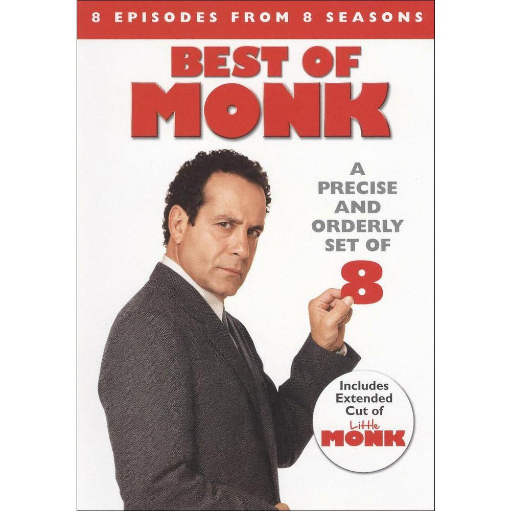 Monk Best Of Monk Dvd