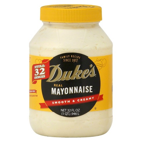 Duke's Real Smooth & Creamy Mayonnaise 32oz - image 1 of 4