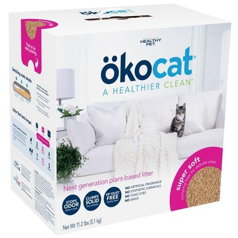 okocat Wood Super Soft Clumping Litter - 11.2lbs - image 1 of 4