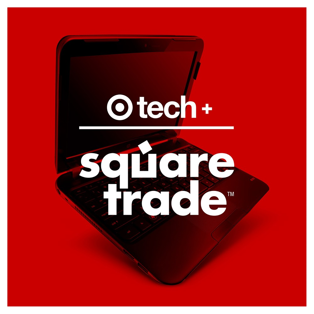 2 year Target + SquareTrade Laptops Protection Plan with Accidental Damage Coverage ($100-124.99) SquareTrade 2 year Laptops Protection Plan with Accidental Damage Coverage ($100-124.99). Your device is covered for all of life's accidents, plus mechanical and electrical failures from normal use. Intentional damage, loss, and theft are not covered.