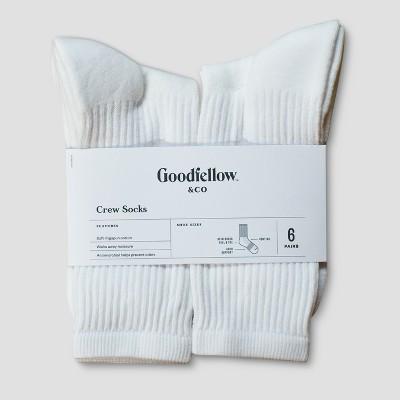 Men's Odor Resistant Socks 6pk - Goodfellow & Co™ - 6-12