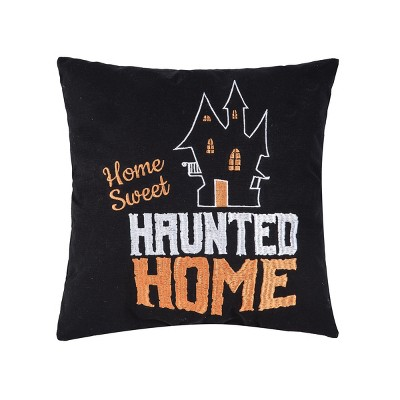 """C&F Home 14"""" x 14"""" Sweet Haunted Home Pillow"""