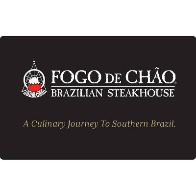 Fogo De Chao Gift Card $50 (Email Delivery)