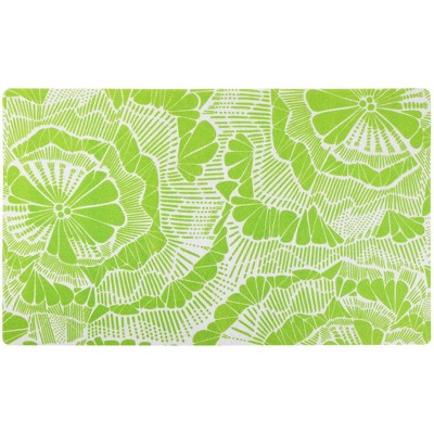 Drymate Dog and Cat Feeding Placemat - Surf Green
