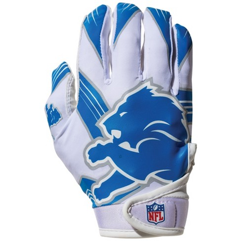 detroit lions youth football gloves