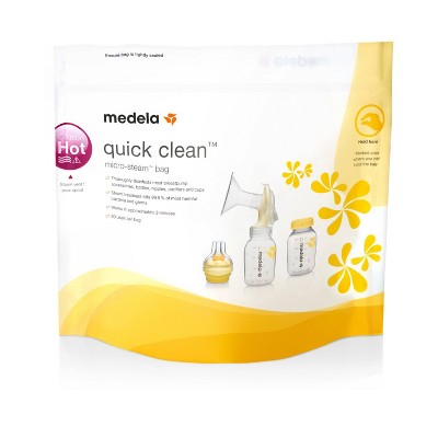 Medela Quick Clean Micro-Steam Sanitizing Bags - 5ct
