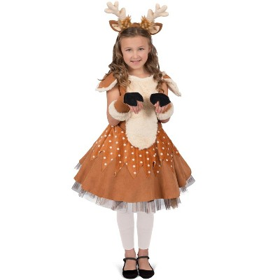 Princess Paradise Doe the Deer Child Costume