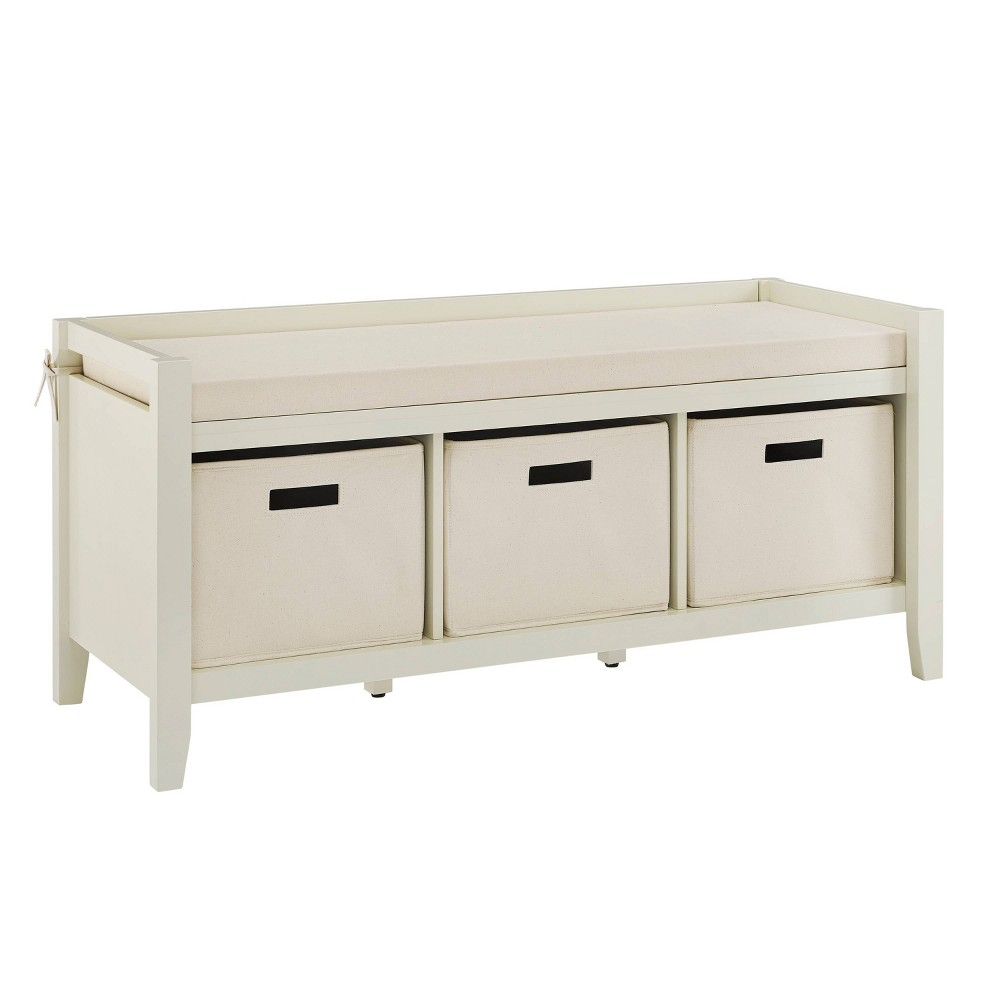 Luray Entryway Bench White - Linon Luray Entryway Bench White - Linon Gender: Unisex. Pattern: Solid.