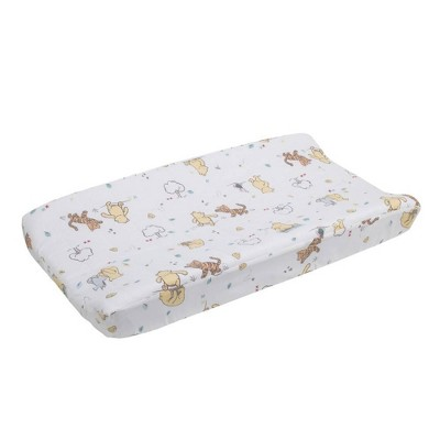 Disney Winnie The Pooh Classic Pooh Quilted Changing Pad Cover