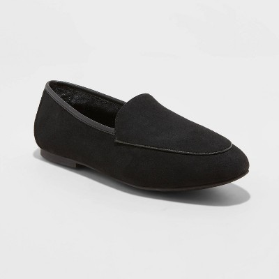 Women's Kasia Faux Fur Loafers - A New Day™
