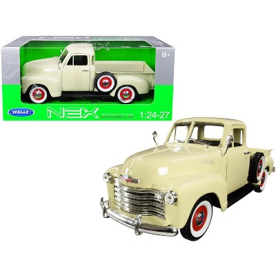 1953 Chevrolet 3100 Pickup Truck Cream 1/24-1/27 Diecast Model Car by Welly