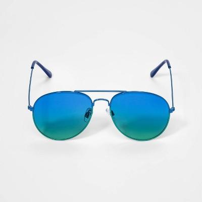 Boys' Aviator Sunglasses - Cat & Jack™ Blue
