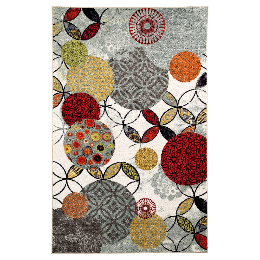 Image of 5'X8' Shapes Area Rug - Mohawk, Multicolored