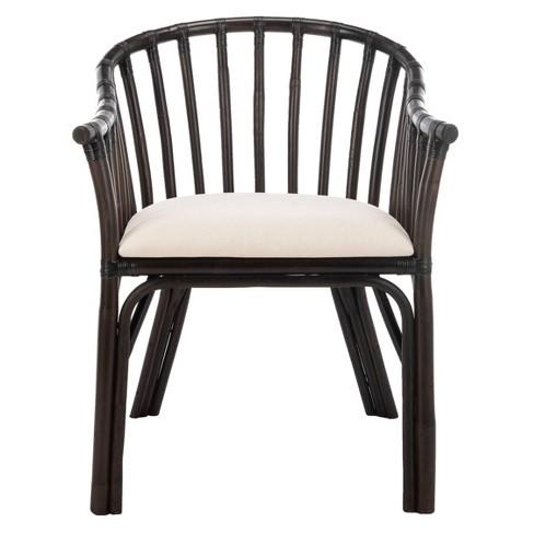 Dining Chair Wood/Black/White - Safavieh - image 1 of 4