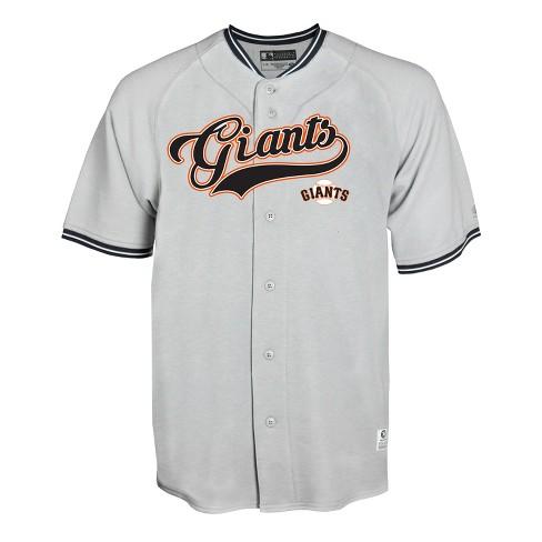 a02cba78 MLB San Francisco Giants Men's Gray Retro Team Jersey