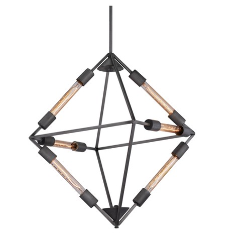 "Bold Geometric 26"" Ceiling Lamp - ZM Home - image 1 of 6"
