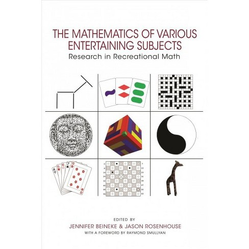 Mathematics of Various Entertaining Subjects : Research in Recreational  Math - Reprint (Paperback)