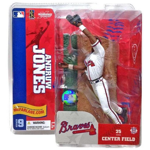 McFarlane Toys MLB Atlanta Braves Sports Picks Series 9 Andruw Jones Action Figure [White Jersey] - image 1 of 1