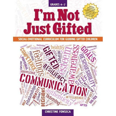I'm Not Just Gifted - by  Christine Fonseca (Paperback) - image 1 of 1