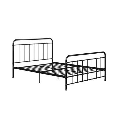 Queen Bancroft Metal Bed Black - Room & Joy