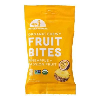 Dried Organic Pineapple and Passion Fruit Bites - 2oz - Mavuno Harvest