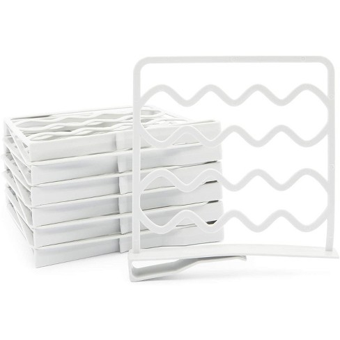 Juvale 12 Pack Shelf Dividers for Closets, Spacers for Cabinets (10.8 x 10 in) - image 1 of 4