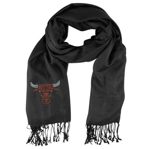 NBA Chicago Bulls Black Pashi Fan Scarf - image 1 of 1