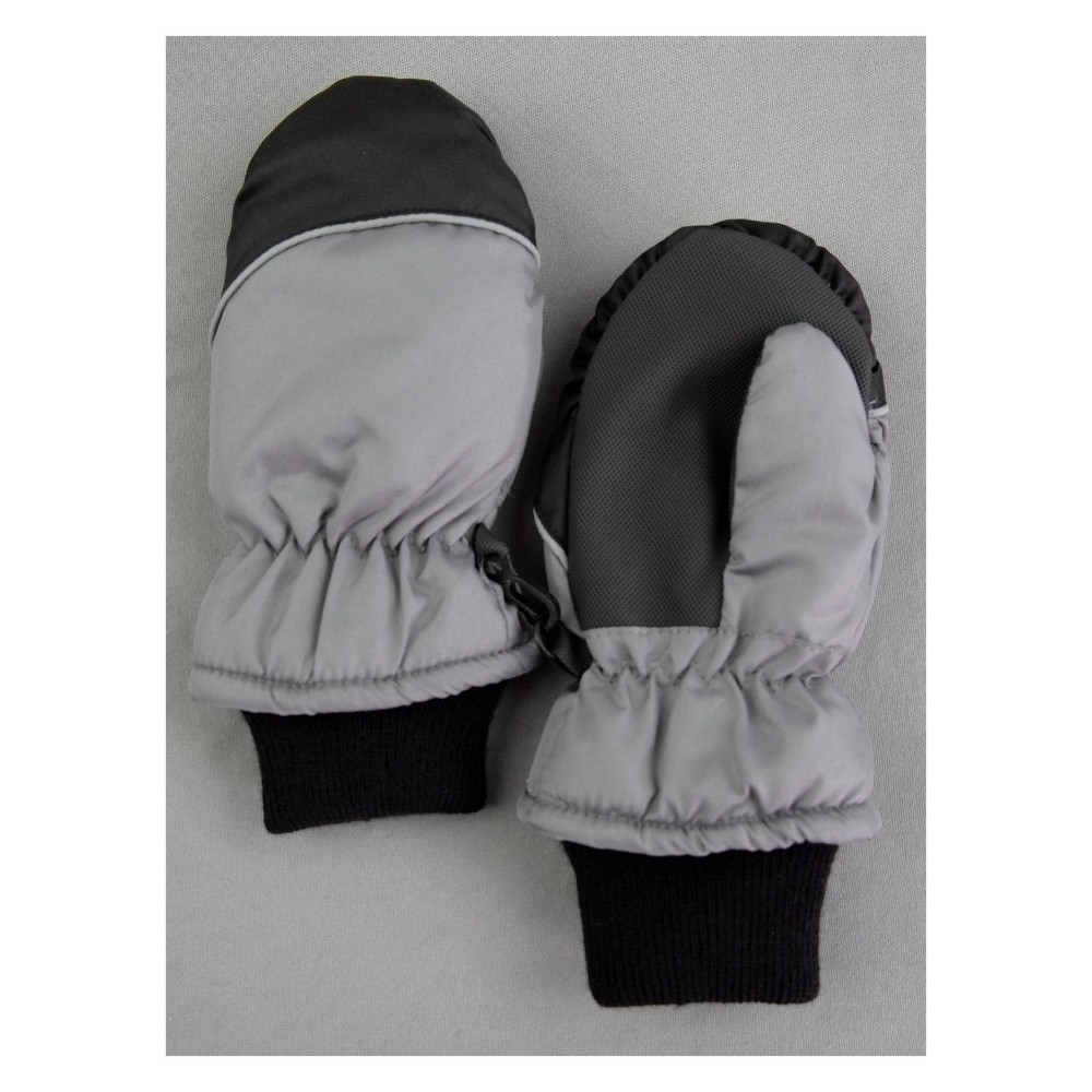 Toddler Boys' Mittens - Cat & Jack Gray 2T-5T