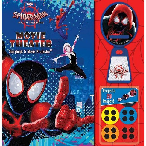 Marvel Spider-Man: Into the Spider-Verse Movie Theater Storybook - by  Eleni Roussos (Hardcover) - image 1 of 1