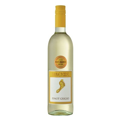 Barefoot Cellars Pinot Grigio White Wine - 750ml Bottle