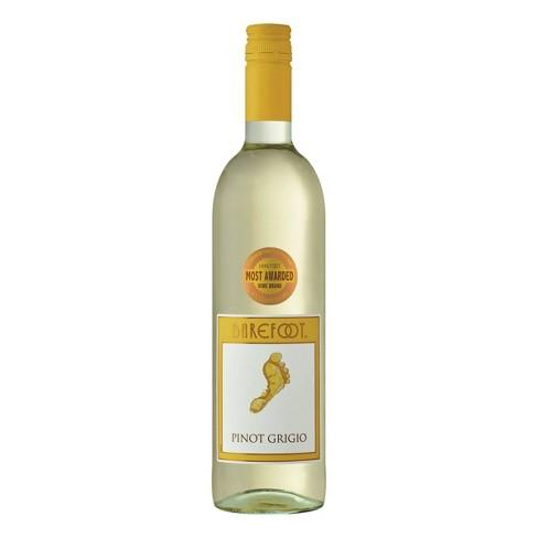 Barefoot Pinot Grigio White Wine - 750ml Bottle - image 1 of 3