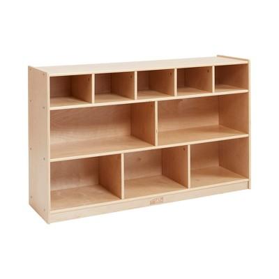 Birch 5+5 Storage and Tray Cabinet