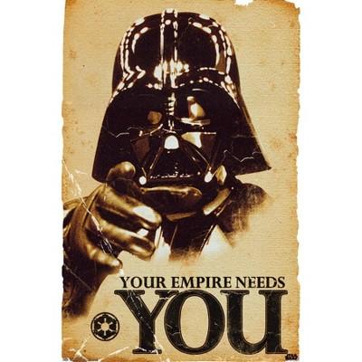"36"" x 24"" Star Wars: Saga Empire Unframed Wall Poster - Trends International"