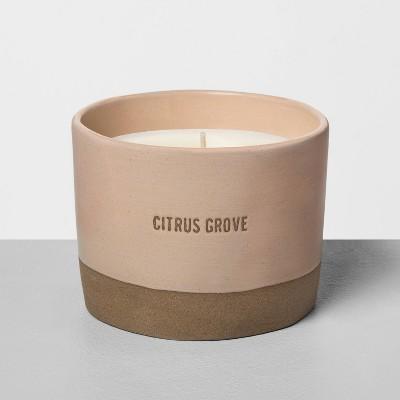 Ceramic Candle Citrus Grove - Hearth & Hand™ with Magnolia