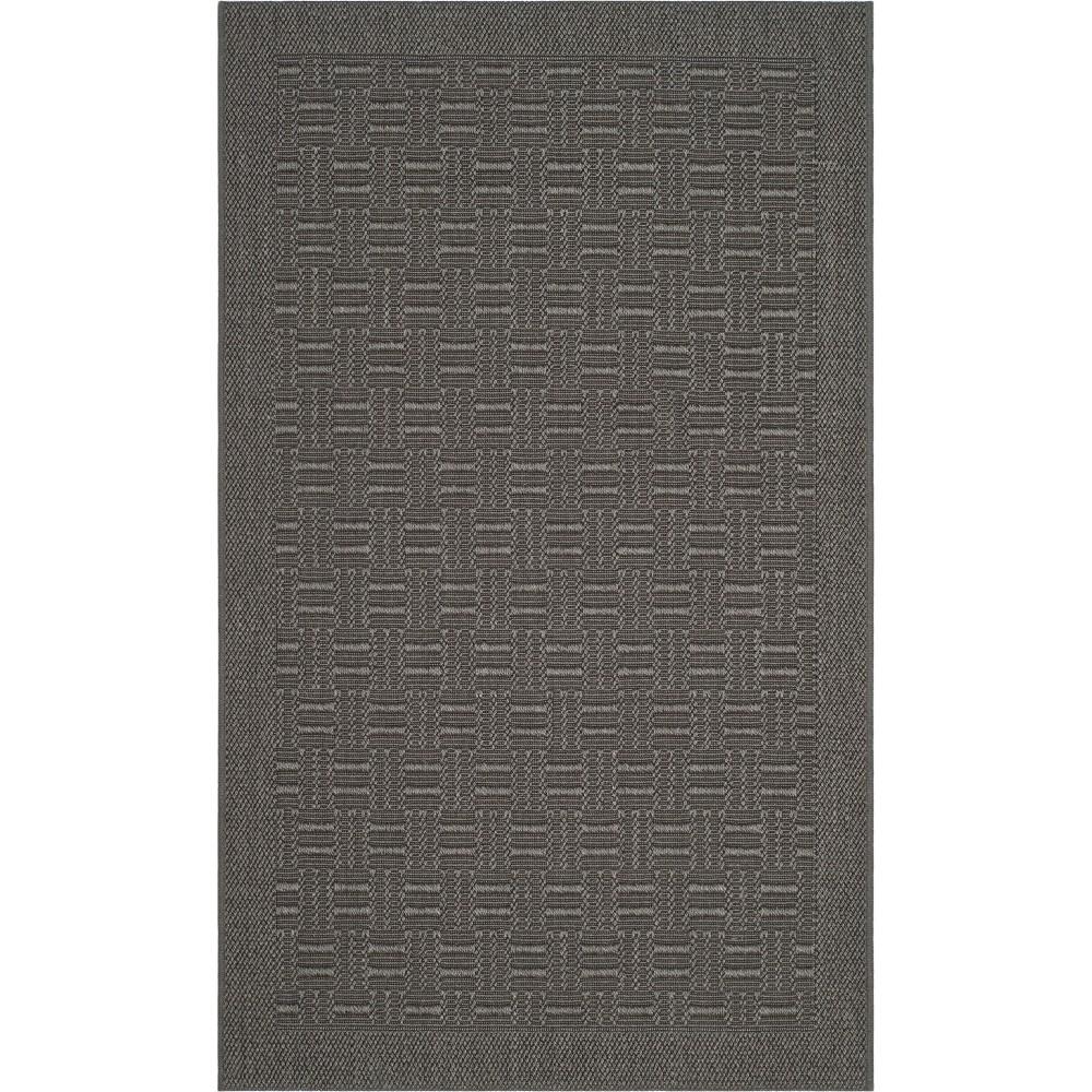 3'X5' Geometric Loomed Accent Rug Ash/Light Gray (Grey/Light Gray) - Safavieh