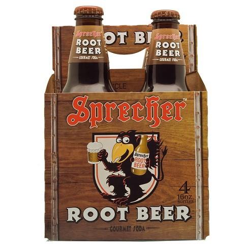 Sprecher Root Beer - 4pk/16 fl oz Glass Bottles - image 1 of 1