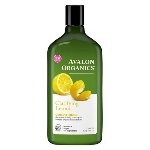 Avalon Organics Clarifying Lemon Conditioner - 11oz - image 1 of 2