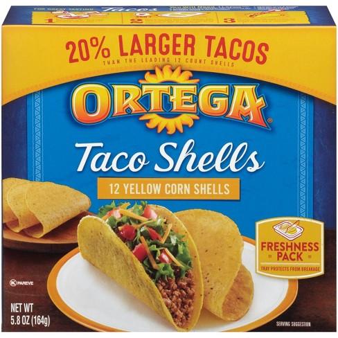 Ortega Yellow Corn Taco Shells - 5.8oz/12ct - image 1 of 3