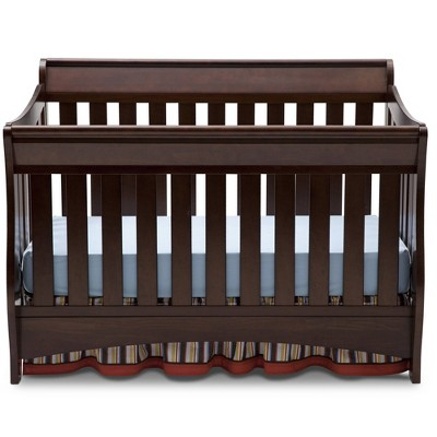 Delta Children Bentley S Series 4-in-1 Convertible Crib - Chocolate