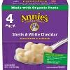 Annie's Shells & White Cheddar Macaroni & Cheese 4pk - 24oz - image 2 of 3
