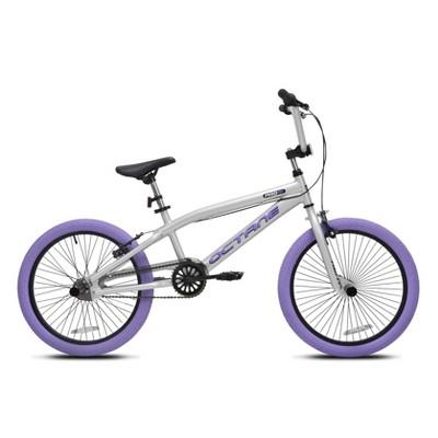 "Kent Octane 20"" Kids' Freestyle Bike - Silver"
