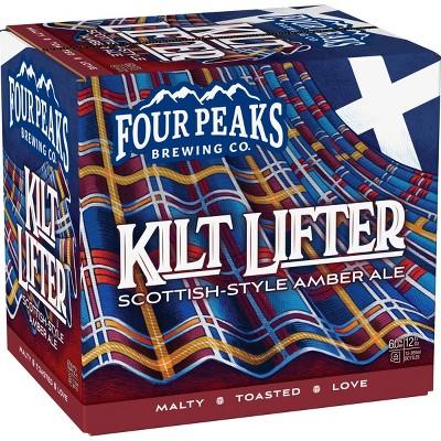 Four Peaks Kilt Lifter Scottish-Style Ale Beer - 12pk/12 fl oz Bottles