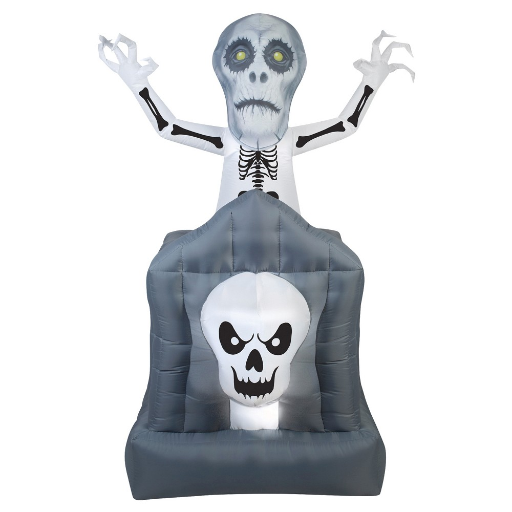 "Image of ""72"""" Halloween Inflatable Pop-Up Haunted Ghost"""