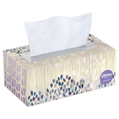 Kleenex Ultra Soft Facial Tissues- 120 sheets