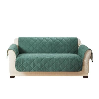Ultimate Waterproof Loveseat Furniture Protector Silver/Pine - Sure Fit