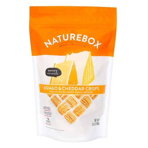 Naturebox Asiago & Cheddar Cheese Crisps - 3.5oz - image 1 of 1