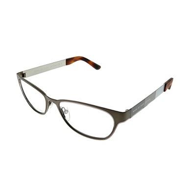 Marc by Marc Jacobs  8ZC Unisex Rectangle Eyeglasses Grey Mud Beige 52mm